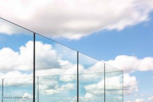 Bespoke Glass balcony